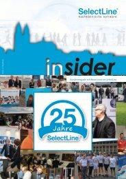 Endkundenmagazin insider 2017/1 - SelectLine Software