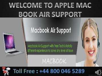 applemactechnicalsupportnumber-macbook-air-support