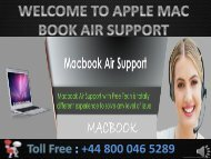 Apple MacBook Air Technical Support Phone Number +448000465289