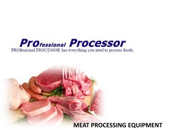 Food & Meat Processing Equipment
