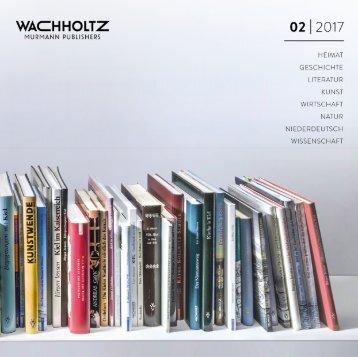 Wachholtz Verlag Verlagsprogramm 02/2017
