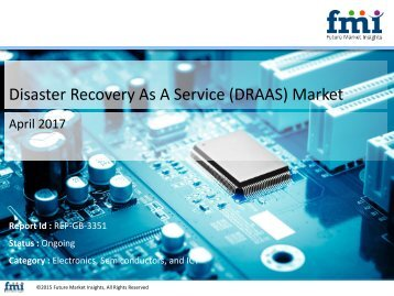 New Trends Disaster Recovery As A Service (DRAAS) Market with Worldwide Industry Analysis to 2027