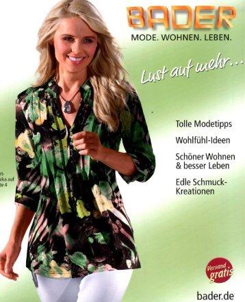 Каталог Bader Lust auf mehr весна-лето 2017. Заказ одежды на www.catalogi.ru или по тел. +74955404949