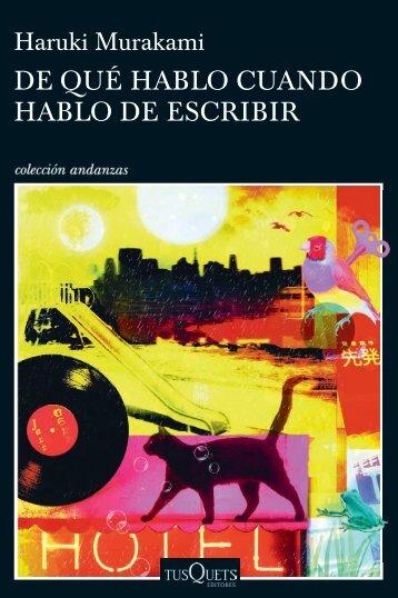 HABLO DE ESCRIBIR