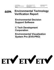Environmental Decision Support Software C Tech Development ...