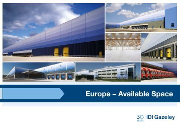 Europe – Available Space