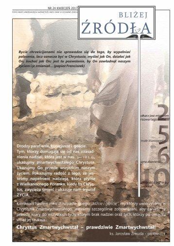 Bliżej Źródła nr 24 kwiecień 2017