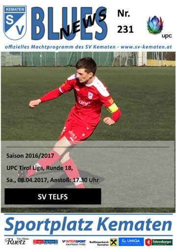 Blues News 231: SV Kematen vs. SV Telfs