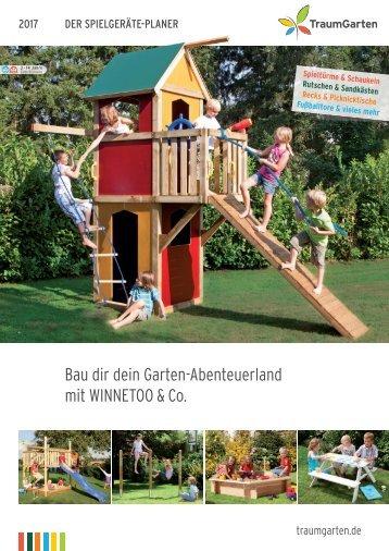 TraumGarten Spielgeräte Planer 2017