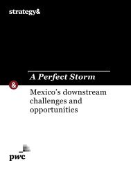 A Perfect Storm Mexico's downstream challenges and opportunities