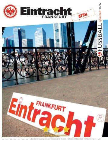 Eintracht Frankfurt Spielzeit 16/17 April 2017
