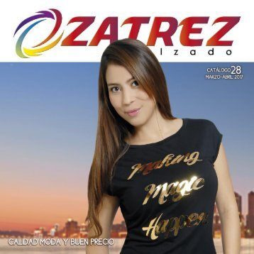 CATALOGO 28 Calzado Zatrez