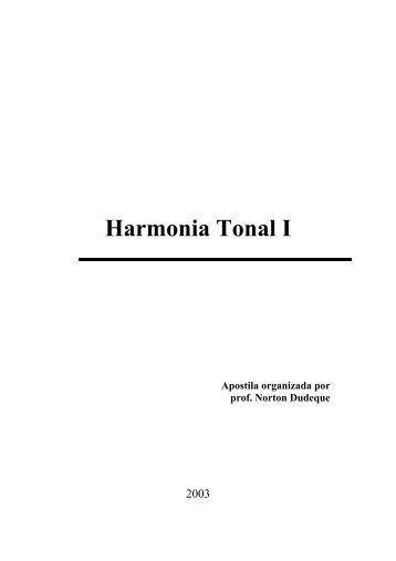 Apostila Harmonia Tonal 1