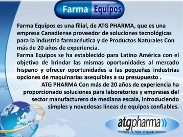 CATALOGO FARMAEQUIPOS