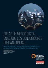 Crear un mundo digital en el que los consumidores puedan confiar