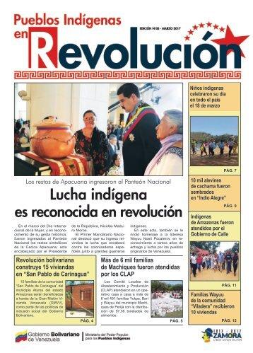 """Periodico """"Pueblos Indígenas en revolución"""""""