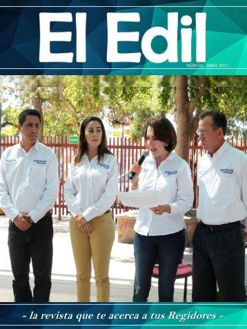 """El Edil"" Núm 01- Abril 2017"