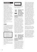 Sony BDV-E870 - BDV-E870 Mode d'emploi Serbe - Page 2