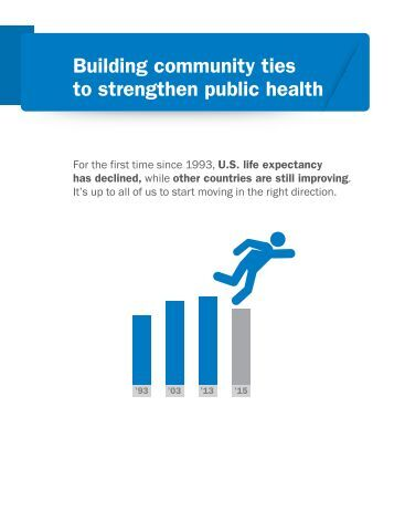 Building community ties to strengthen public health