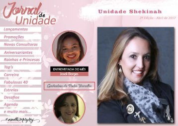 JORNAL DE UNIDADE - SHEKINAH 042017