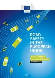 ROAD SAFETY IN THE EUROPEAN UNION