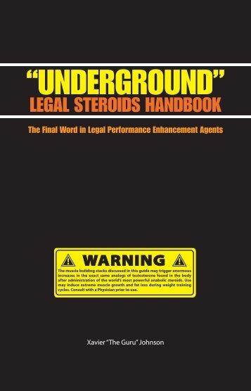 Underground Handbook