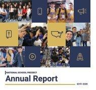 NSP 2019-20 Annual Report