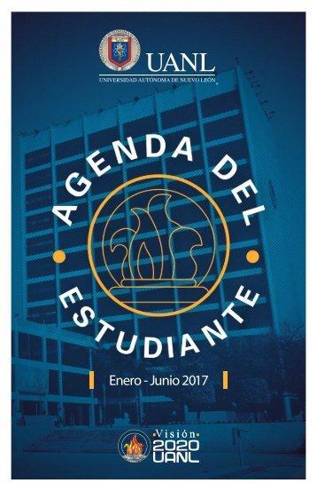 Agenda del Estudiante Enero Junio 2017