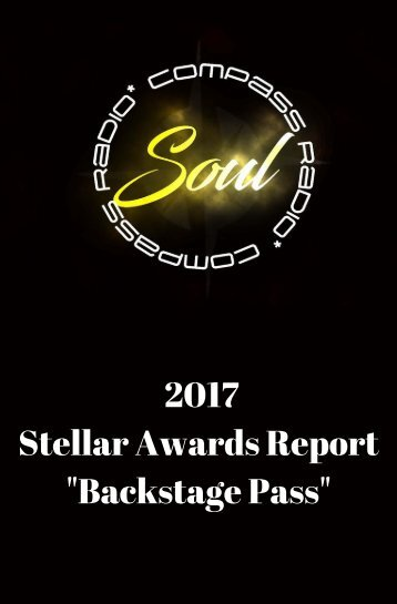 32nd Annual Stellar Awards BackStage Report