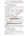PHÂN DẠNG BÀI TẬP TRONG ĐỀ ĐẠI HỌC MÔN HÓA HỌC MAI VĂN HẢI - Page 5