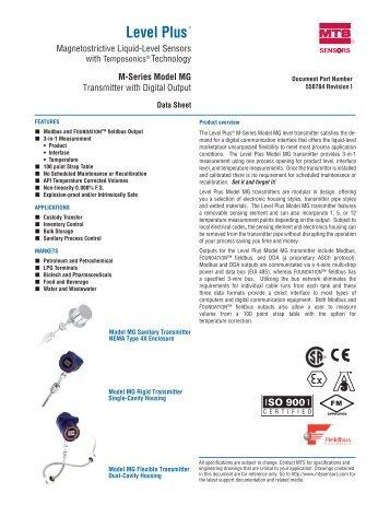 Level Plus - MTS Sensors