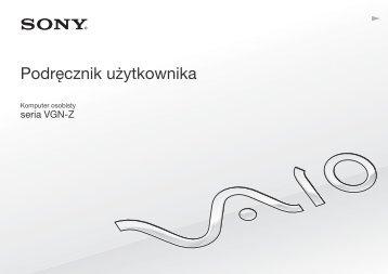 Sony VGN-Z51MG - VGN-Z51MG Mode d'emploi Polonais