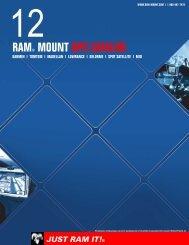 RAM® MOUNT GPS CATALOG - RAM Mounts