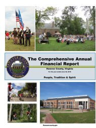 The Comprehensive Annual Financial Report