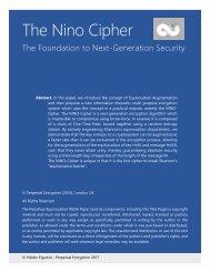 The Nino Cipher
