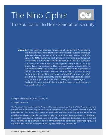The Nino Cipher