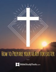 How to Prepare your heart for easter