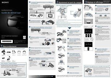 Sony HMZ-T3W - HMZ-T3W Guida di configurazione rapid Spagnolo