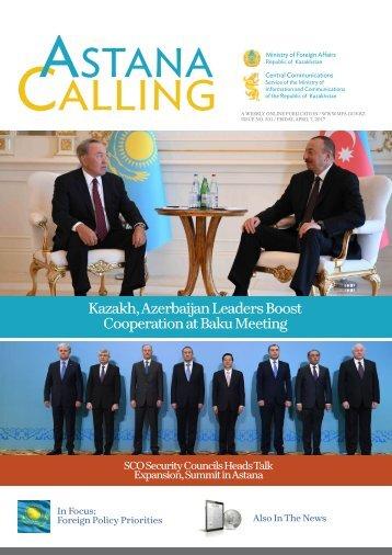 Cooperation at Baku Meeting