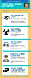 Steps to Hiring A Personal Injury Attorney