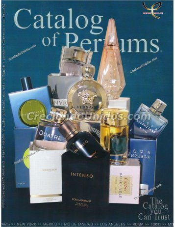#469 Catalog of Perfums - Brand Name Perfume - Catalogo de Perfumes Originales