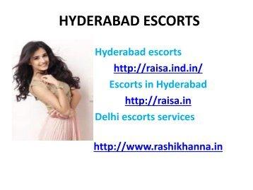 Hyderabad escorts service in call girls 8