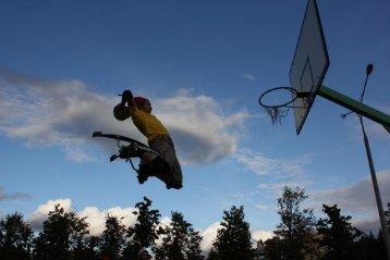 Air Trekker Jumping Stilts are Crazy Fun