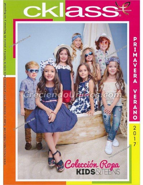 #563 Cklass Kids y Teens Ropa para ninos Primavera Verano 2017