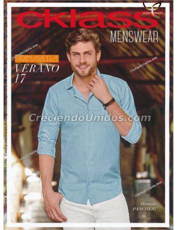 #562 Cklass Caballero Menswear ropa para Hombre Primavera Verano 2017