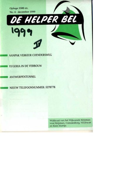 Helperbel 1999, nummer 4