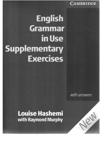English Grammar in Use Supplementare with key