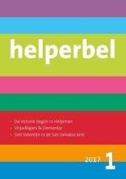 Helperbel 2017, nummer 1
