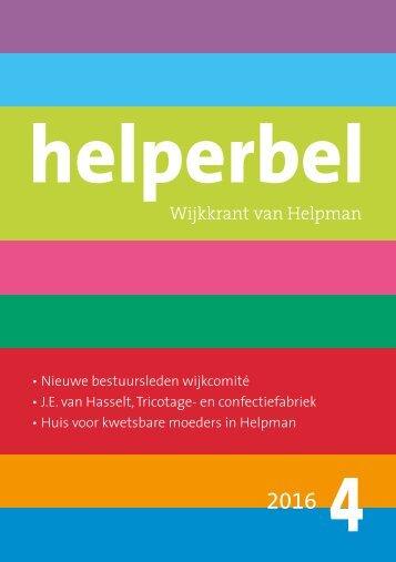 Helperbel 2016, nummer 4