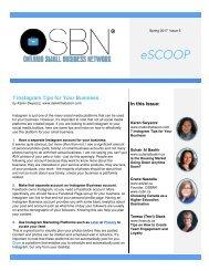 eScoop - Issue 5 - Spring 2017